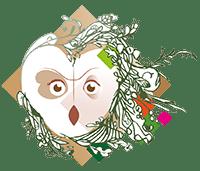Gîte la Hulotte Logo